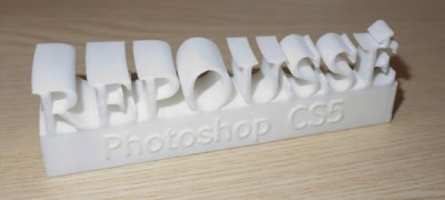 Creating 3D printable objects with Adobe Photoshop CS5 Extended