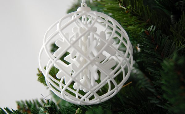 3d printed christmas decoration free with every order 3d