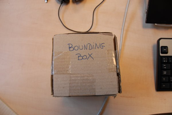 Real bounding box