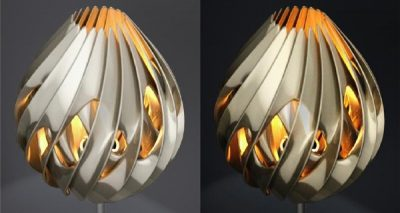 Google SketchUp 3D printed lamp Design Challenge winners announced!