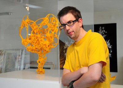 3D printing in contemporary art: Nick Ervinck