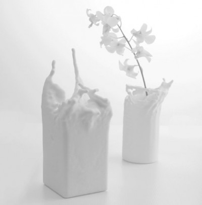 A 3D Printed Individualized Fluid Vase