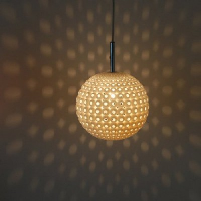 The generative Mars Lamp, our first ceiling lamp!