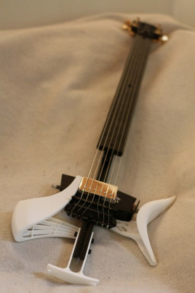 Open source guitar 3D printed using Blender