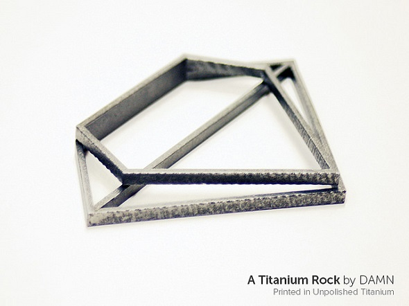 DMLS printer for titanium