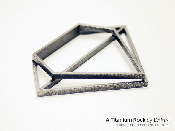 DMLS printer for titanium