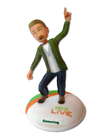 Get your Xbox Avatar 3D printed on FigurePrints
