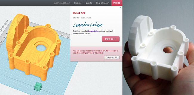 3D print service one click away