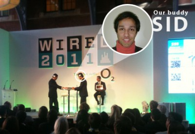 WIRED 2011 through the eyes of our buddy Sid