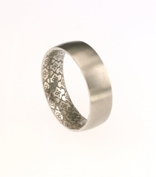 ring printed rings soundwave trends jewelry
