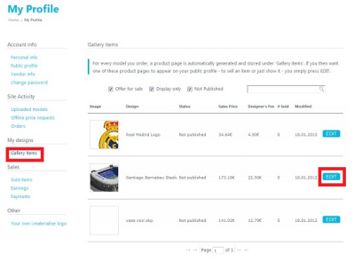 How to open your own Shop at i.materialise