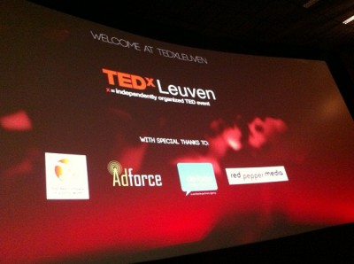 Impressions from a very inspiring TEDxLeuven