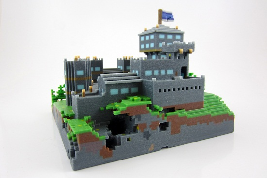 Materialising Minecraft Dreams 3d Printing Blog I Materialise