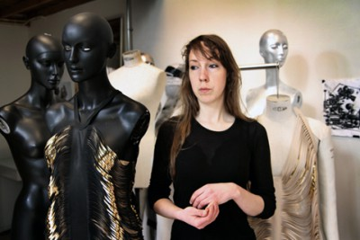 Iris Van Herpen: taking her dresses a level higher