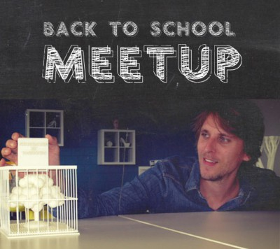 Back to School Meetup: 28th of September