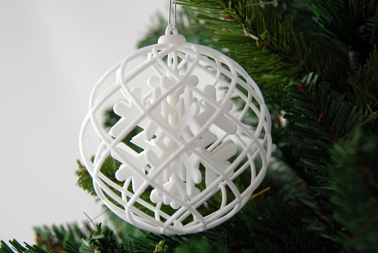 Ho Ho Ho New Challenge Christmas Ornaments 3d