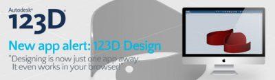New app alert: Autodesk 123D Design