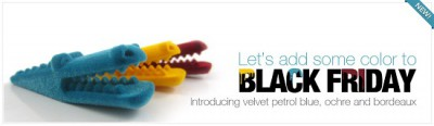 Black Friday? Not here: check out these new velvet colors!