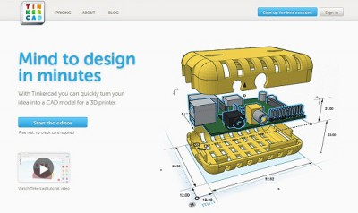 Tinkercad offers academic institutions free software
