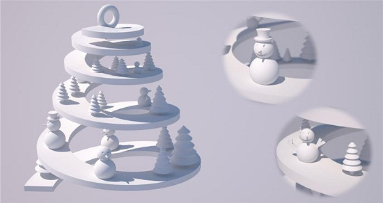 Winner(s) of the Christmas Ornaments Challenge | 3D Printing Blog ...