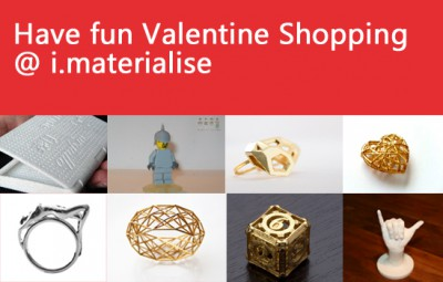 Valentine Shopping at i.materialise
