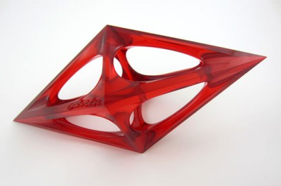 'A Design Award 3D printed by i.materialise