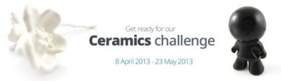 Get ready for our Ceramics Challenge!