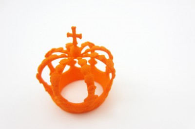 Free orange dye for the inauguration of Dutch king Willem-Alexander!