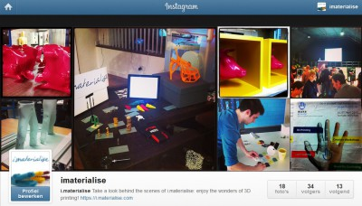Join i.materialise on instagram!
