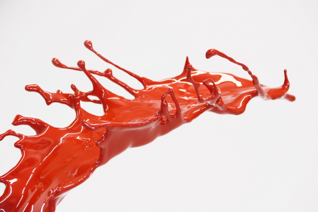 Tomato Paint Soup by Emanuele Niri (Mammoth Resin)