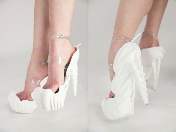 Meet Manuel Vogel's 3D printed 'Bone Shoes'