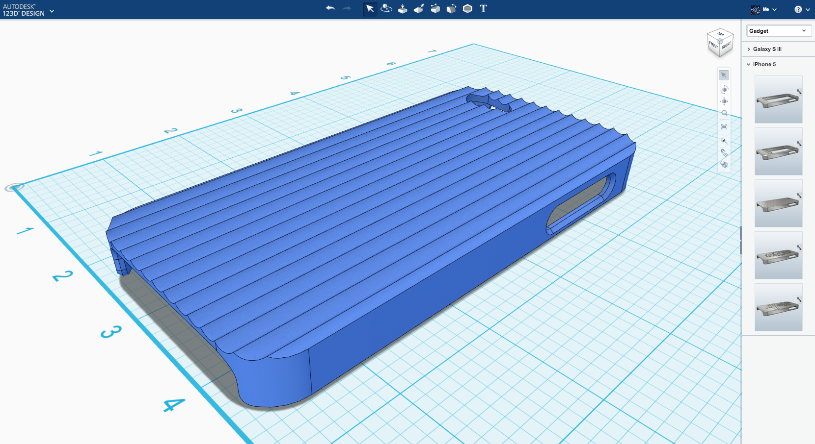 New Features For 123d Design Make It Easier To 3d Print