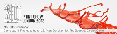 Win a free ticket to the 3D Printshow in London 7-9 November!