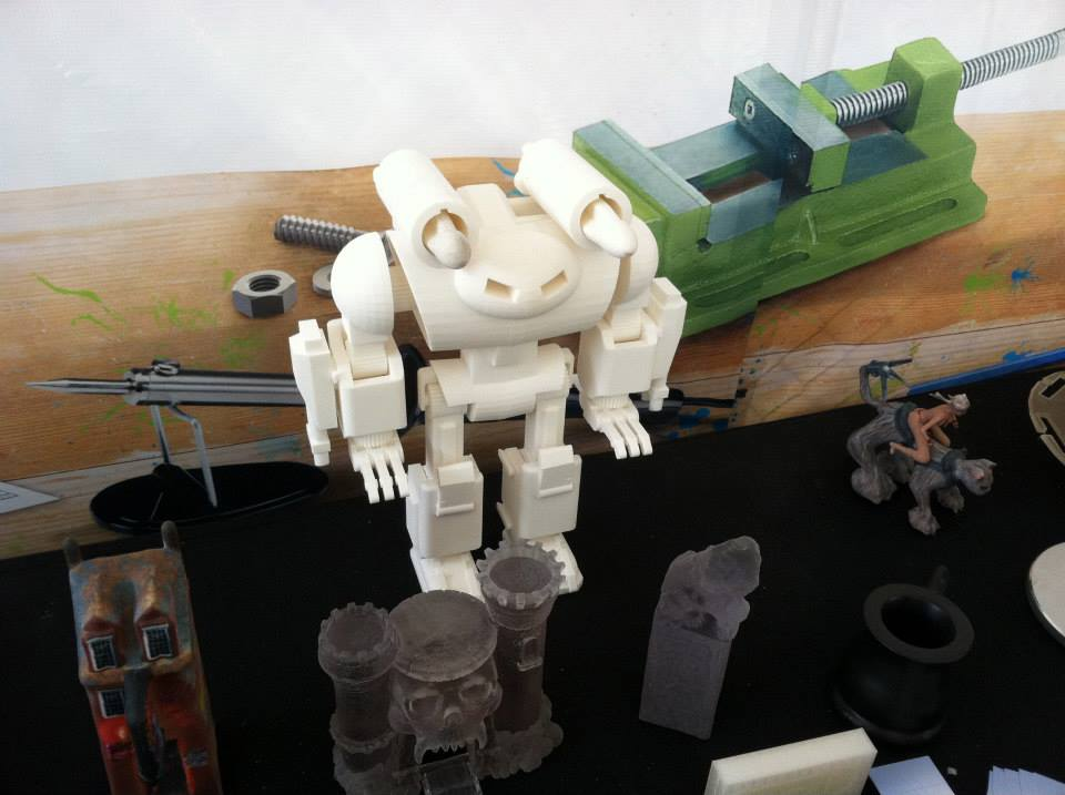 The future of 3D printing and Robotics by our guest blogger Michael Overstreet