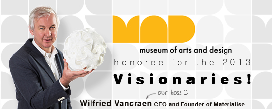 i.materialise and Materialise CEO Fried Vancraen to receive 'Visionaries' Award