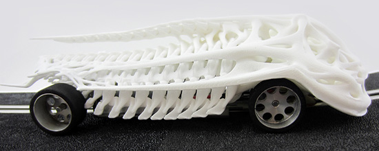Here's the Winning Print of our Slot Car Challenge