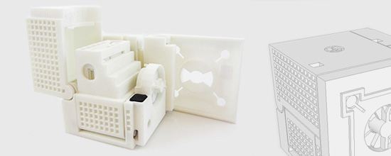 The Articulated Cube: A Clever Piece of Engineering Made With SketchUp