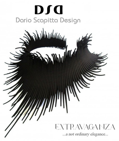 "Award-winning Neck Piece ""Extravaganza"" by Dario Scapitta"