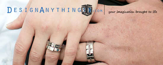 Custom Wedding bands by Josh Azevedo