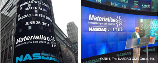 We've Made It to the Heart of the Big Apple: Materialise on Times Square!