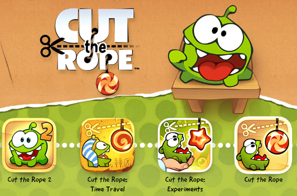 Cut the Rope is a top mobile game created by ZeptoLab.