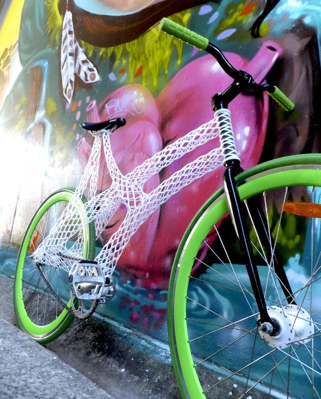 3d printed bike by james novak