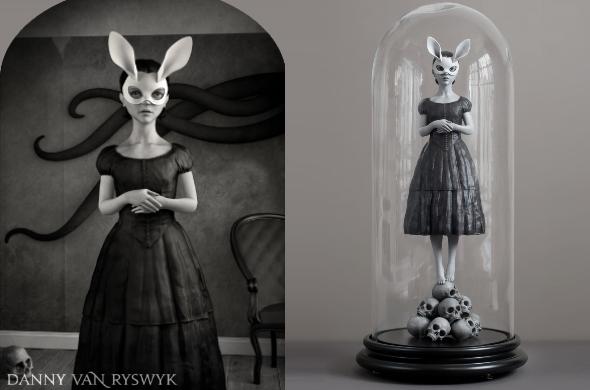 White Rabbit by Danny van Ryswyk
