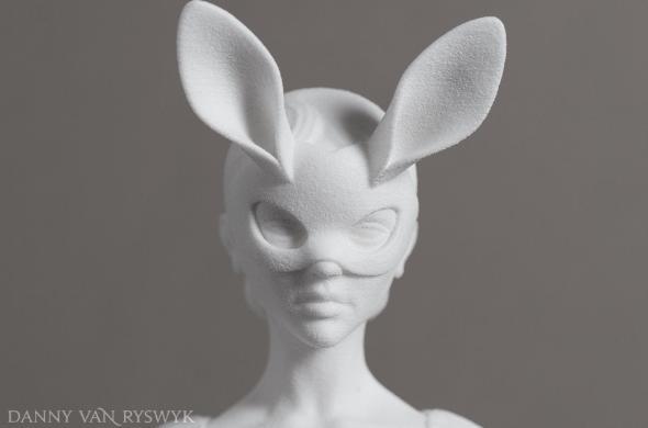 Danny van Ryswyk's White Rabbit, unpainted