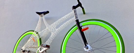3D Printed Bike Frame by James Novak
