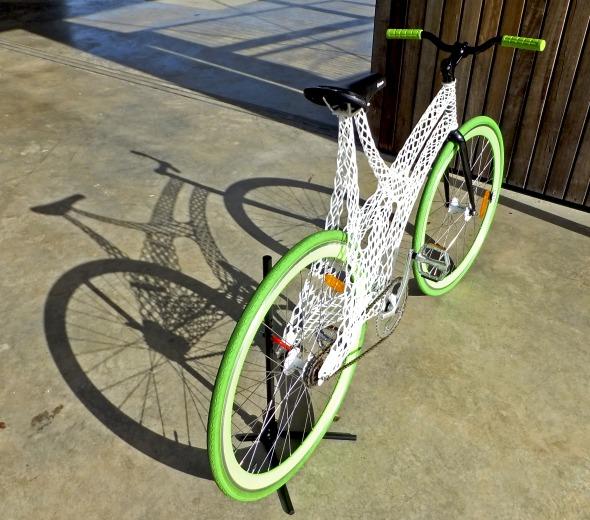 3d printed bike frame by james novak