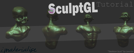 Sculpt GL Header Tutorial Header Image for Tutorial Thursday