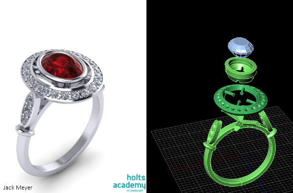 How to Design and 3D Print Metal Jewelry 3D Printing Blog i
