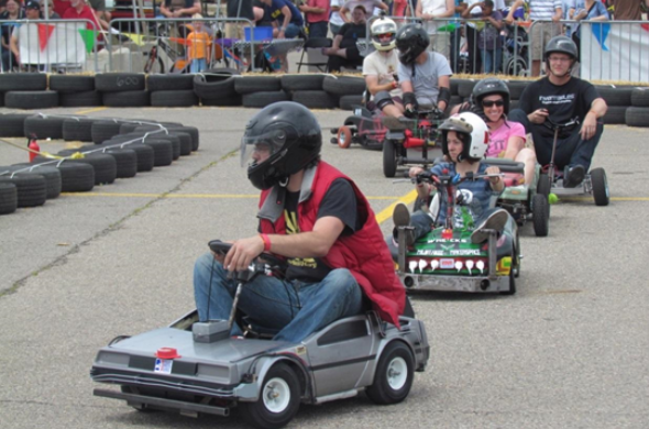 Maker Faire Detroit Go Karts