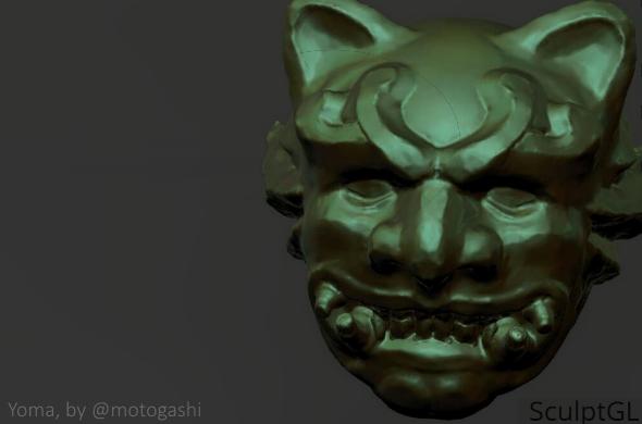 SculptGL. Sculpt by Motogashi.